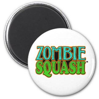 Zombie Squash TM logo Magnets