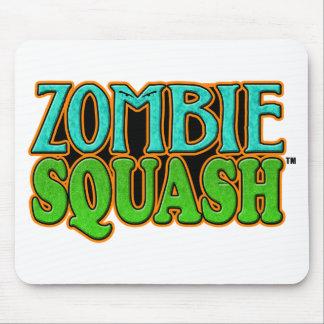 Zombie Squash TM logo Mousepads