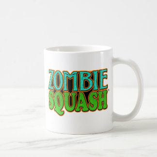 Zombie Squash TM logo Classic White Coffee Mug