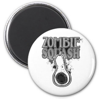 Zombie Squash TM Refrigerator Magnet