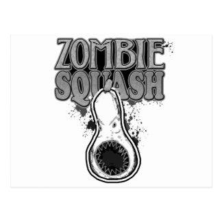 Zombie Squash TM Postcard