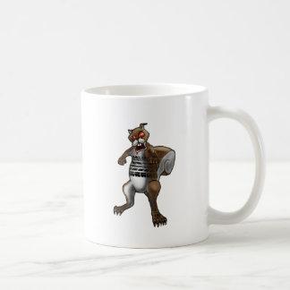 Zombie Squirrel Coffee Mug