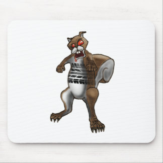 Zombie Squirrel Mouse Pad
