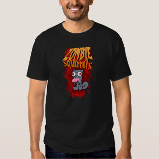 Zombie Squirrels T-Shirt! (2 Sided) Shirt