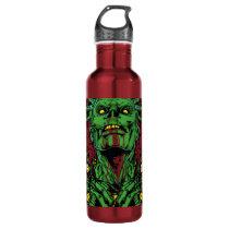 Zombie star water bottle