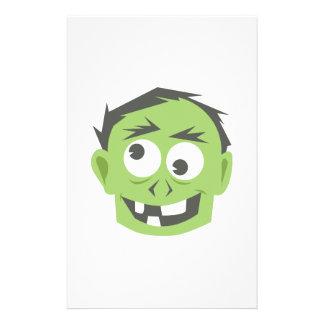 Zombie Personalized Stationery
