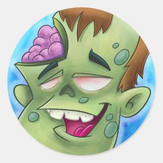 zombie sticker cartoons