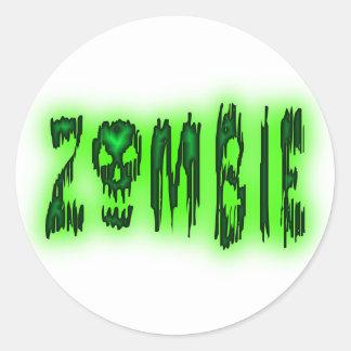 zombie stickers