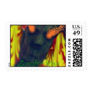 Zombie Stixx Stamp