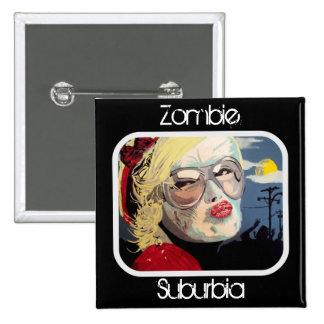 Zombie Suburbia Button