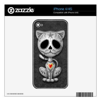 Zombie Sugar Kitten, dark iPhone 4S Decals
