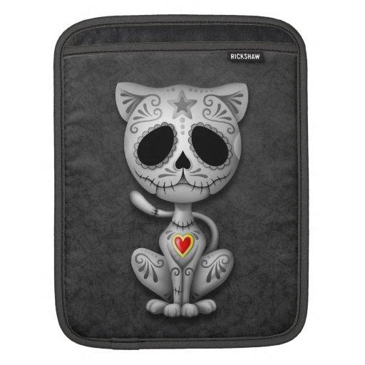 Zombie Sugar Kitten, dark Sleeve For iPads