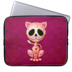 Zombie Sugar Kitten, pink Laptop Sleeve
