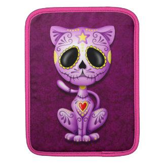 Zombie Sugar Kitten, purple Sleeves For iPads