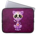Zombie Sugar Kitten, purple Laptop Sleeve