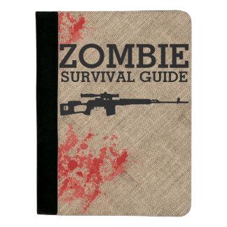 Zombie Survival Guide Funny Padfolio