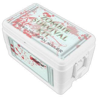 zombie survival kit 48 quart cooler