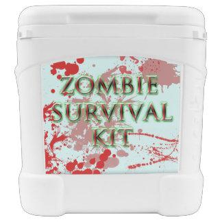 zombie survival kit 60 quart cooler