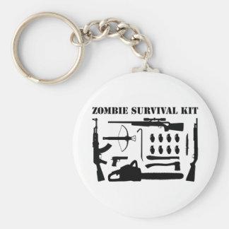 Zombie Survival Kit Keychain