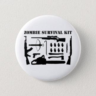 Zombie Survival Kit Pinback Button