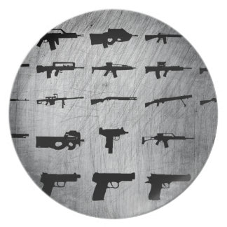 Zombie Survival Kit Plates