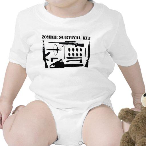 Zombie Survival Kit T Shirts