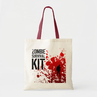 ZOMBIE SURVIVAL KIT - tote Tote Bags