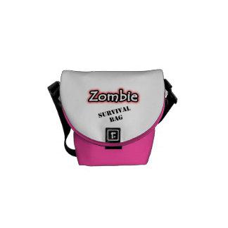 Zombie Survival Messenger Bag