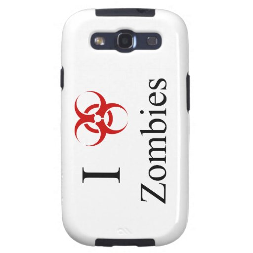 Zombie Survival Tips, I Love Zombies Galaxy SIII Cover