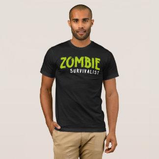 Zombie Survivalist. Funny tee shirt