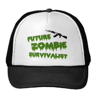 Zombie Survivalist Hat