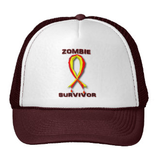 Zombie Survivor Apparel and Hats