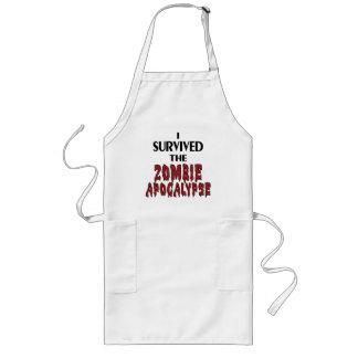 Zombie Survivor Aprons