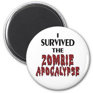 Zombie Survivor Magnet