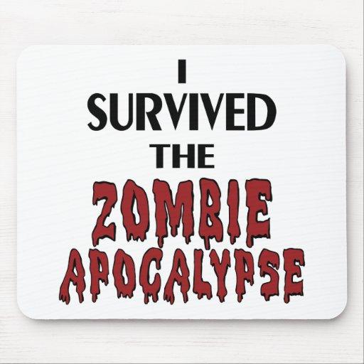 Zombie Survivor Mouse Pad