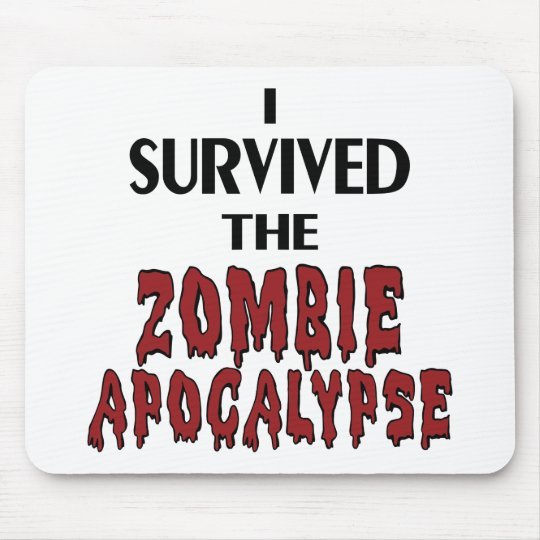 Zombie Survivor Mouse Pad