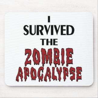 Zombie Survivor Mousepads
