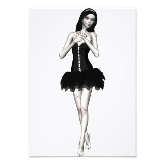 Zombie Suzy 1 - Halloween Doll Card