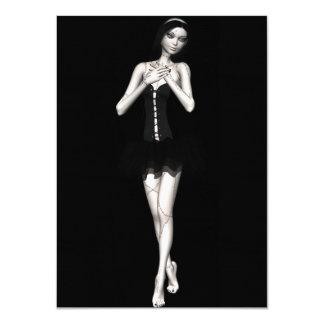 Zombie Suzy 1 - Halloween Doll Custom Invites