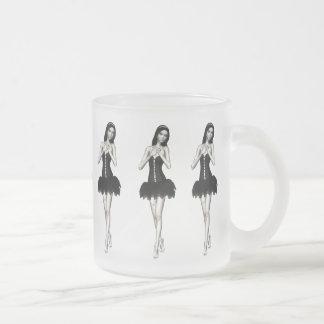 Zombie Suzy 1 - Halloween Doll Frosted Glass Coffee Mug