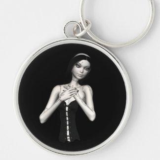 Zombie Suzy 1 - Halloween Doll Keychain