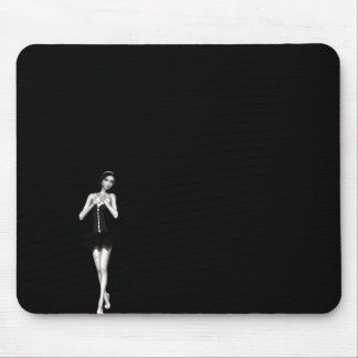 Zombie Suzy 1 - Halloween Doll Mouse Pad
