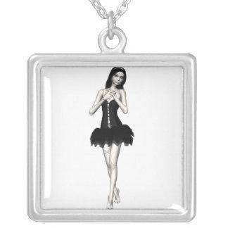 Zombie Suzy 1 - Halloween Doll Necklace