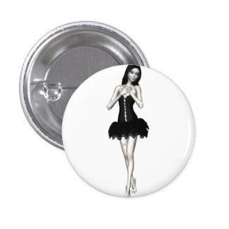 Zombie Suzy 1 - Halloween Doll Pinback Button