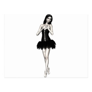 Zombie Suzy 1 - Halloween Doll Post Cards