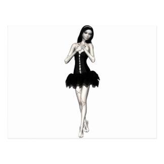 Zombie Suzy 1 - Halloween Doll Postcard
