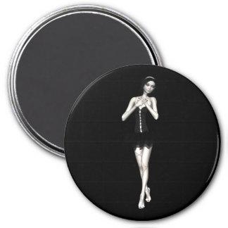 Zombie Suzy 1 - Halloween Doll Refrigerator Magnet