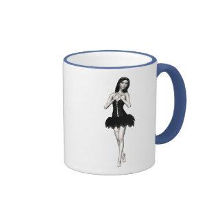 Zombie Suzy 1 - Halloween Doll Ringer Mug