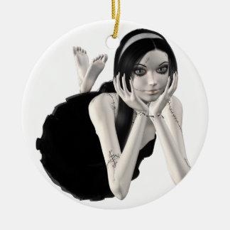 Zombie Suzy 3 - Halloween Doll Christmas Tree Ornament