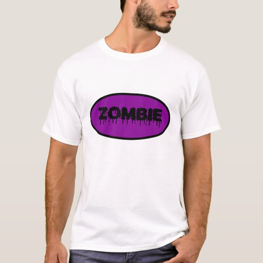 """Zombie"" T-Shirt (purple)"